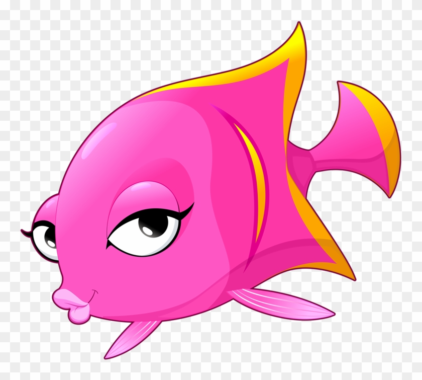 Betta Clipart Transparent Fish - Fish Cartoon #63574