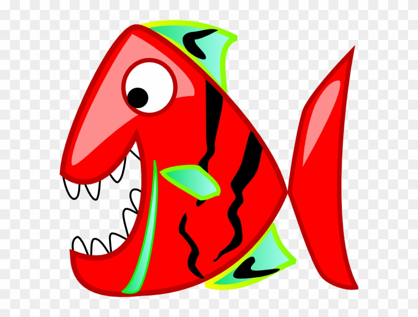Red Fish Clip Art - Free Clipart Red Fish #63612