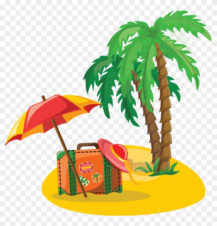 Clipart Vacances D - Jungle Trees Cartoon #63615
