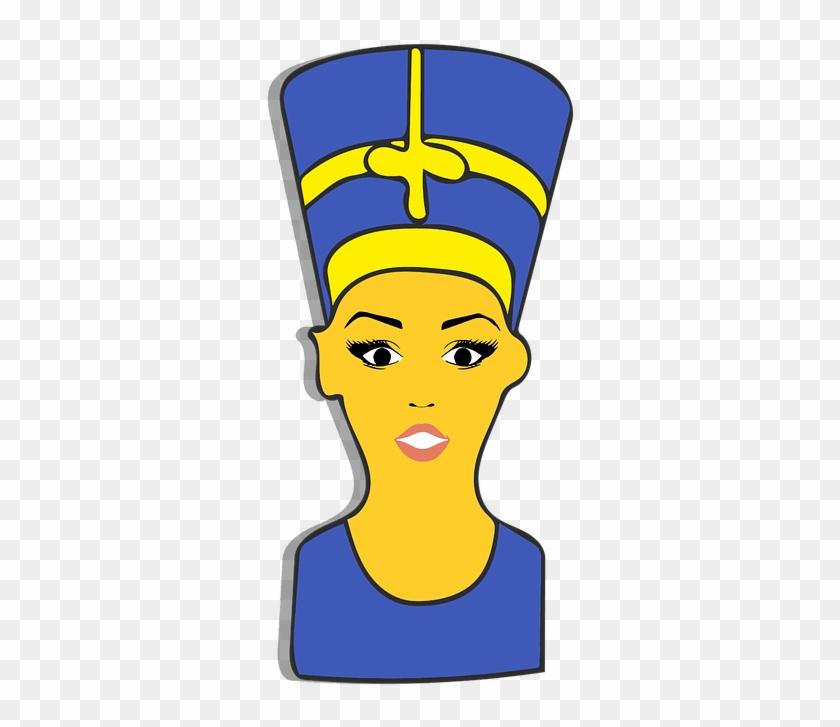 Nefertiti, Emoji, Clipart, Sticker - Illustration #63651