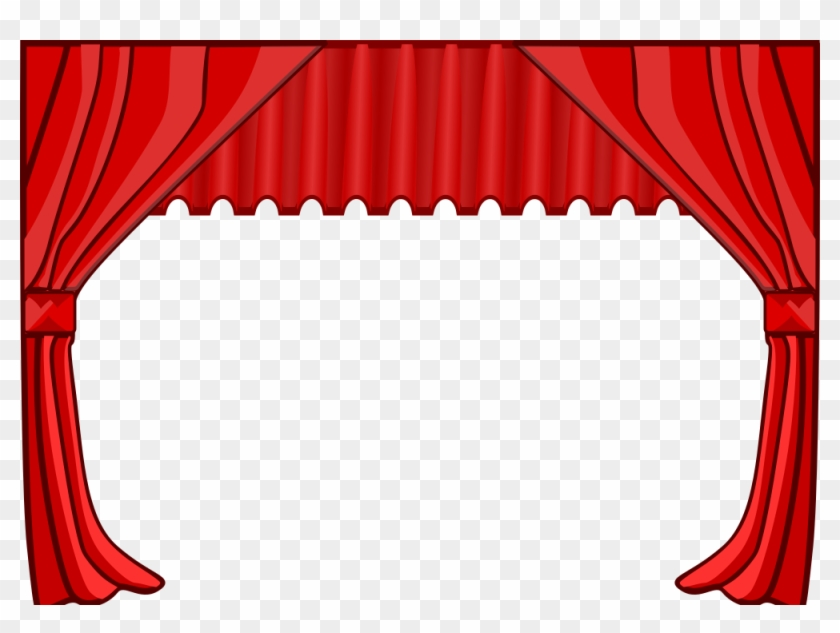 Theatervorhang Clipart - Theater Curtains Clip Art #63658