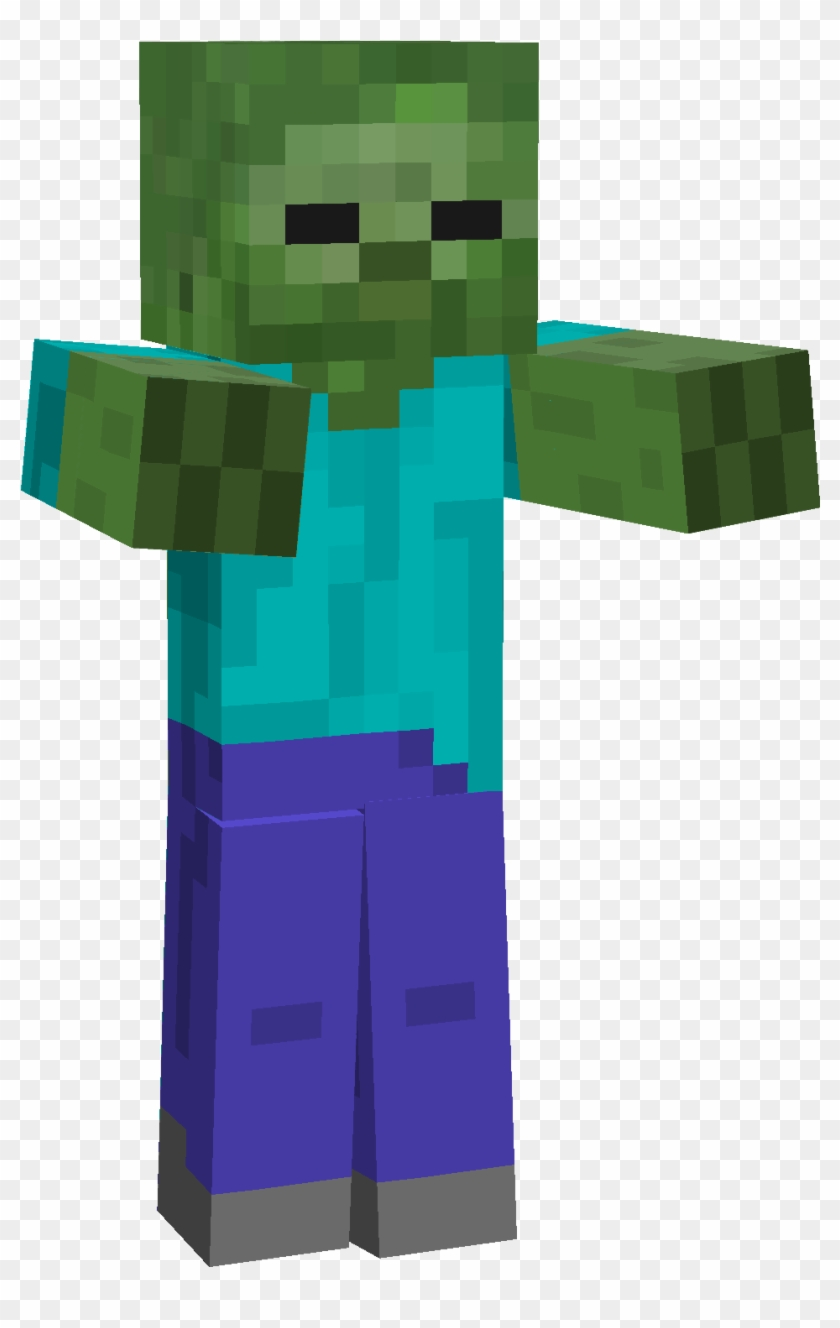 Zombi - Minecraft Zombie Png - Free Transparent PNG Clipart Images