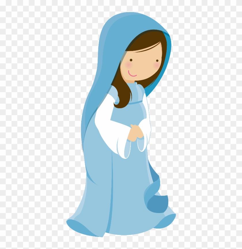 Danielle M - Mary Nativity Clip Art #63771