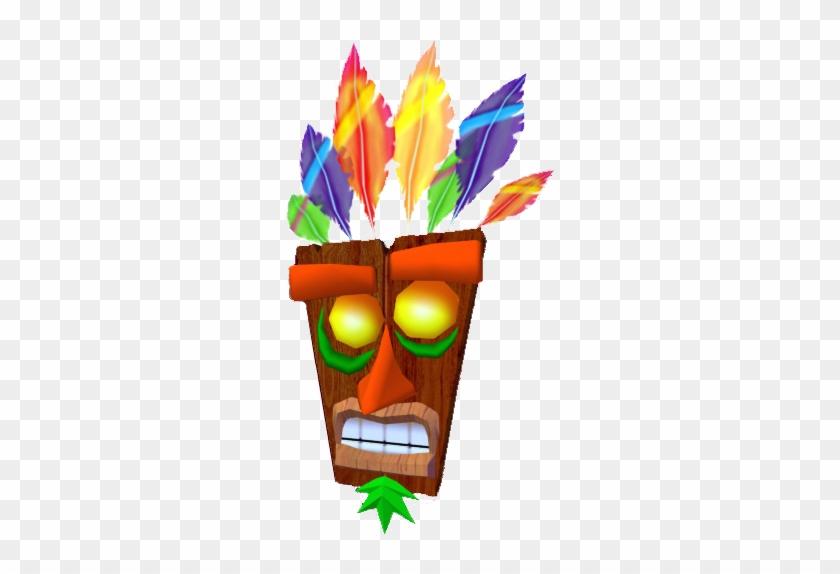 """""""it Is I, Aku Aku - Tiki From Crash Bandicoot #63781"""