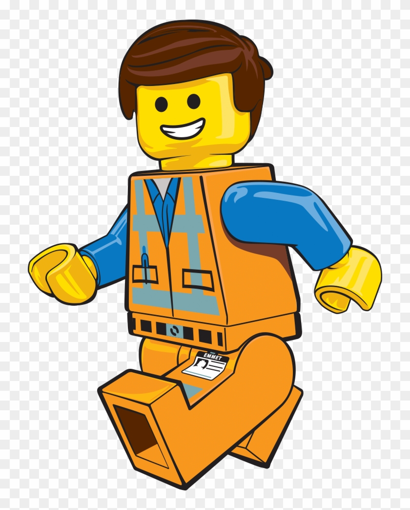 Lego Clipart Construction Worker - Lego Movie: The Official Movie Handbook #63908