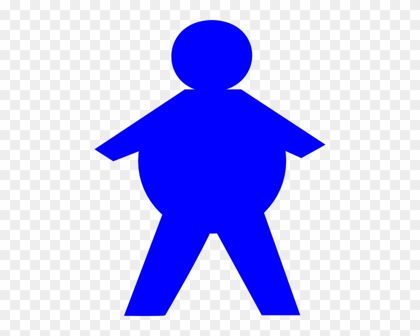 Stickman Fat Clip Art - Fat Stick Figure Clip Art #63932