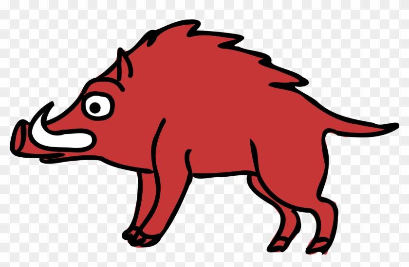Tier Wildschwein Cartoon Doodle Wildschwei - Boar Clipart #63973