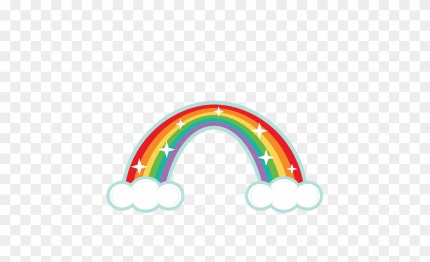 Rainbow Clipart - Cute Rainbow Clipart #64074