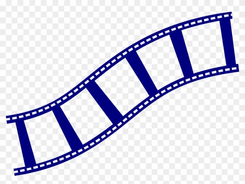 Symbol Film Strip Filmstrip Movie Film Reel - Film Strip Clip Art #64201
