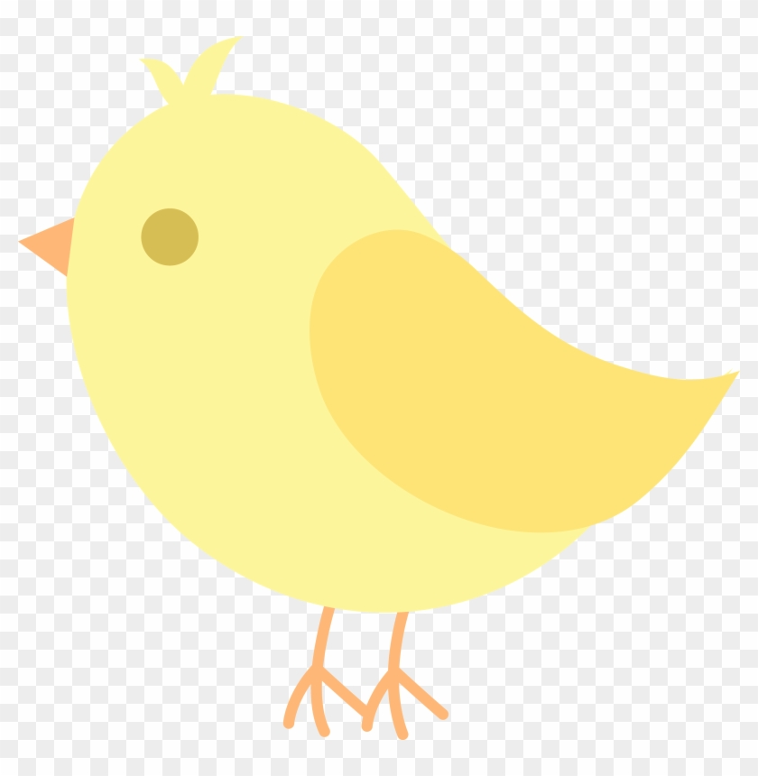 Cute Yellow Bird Clip Art - Cute Cartoon Yellow Birds #64244
