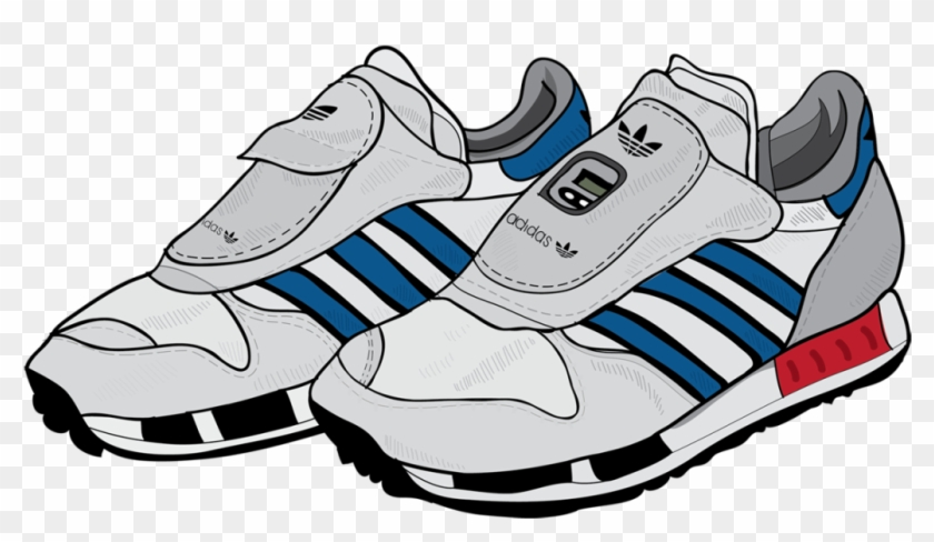 Running Shoes Clipart Free - Adidas Micropacer City #64248