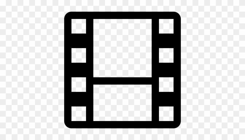Film Strip Silhouette Â‹† Free Vectors, Logos, Icons - Film Strip Icon #64249