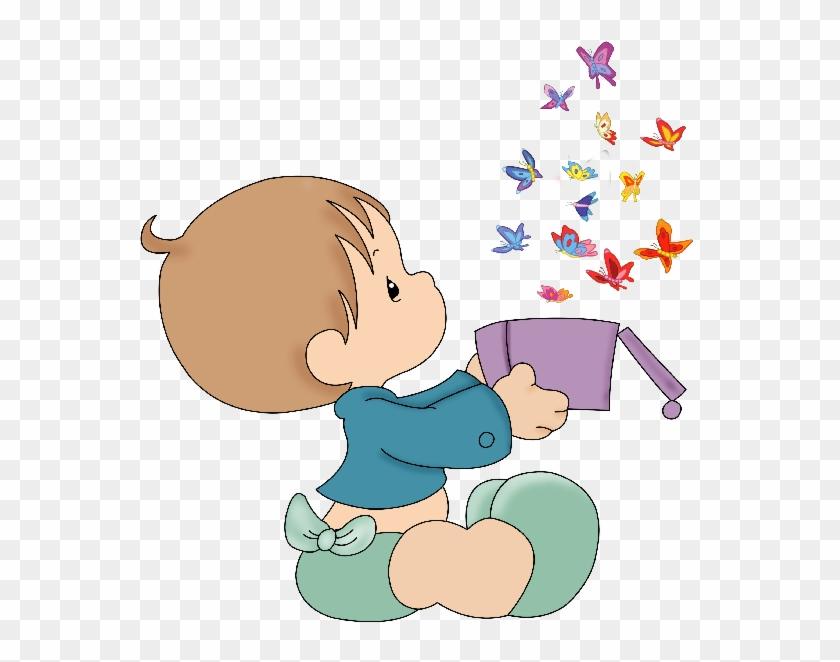 Cute Baby Girl Clip Art Cliparts - Cute Baby Boy Clipart #64271