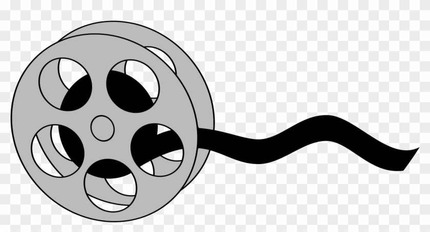 Free Movie Reel Clipart Illustration - Film Reel Cartoon #64308