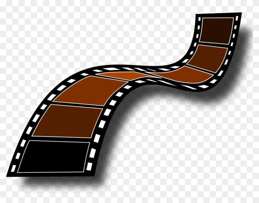 Big Image - Film Strip Clip Art #64321