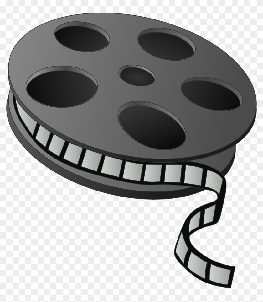 Movie Reel Png - Movie Clipart Png #64380