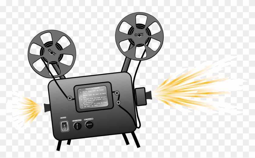 Clip Art Projectors Clip Art - Movie Projector #64391