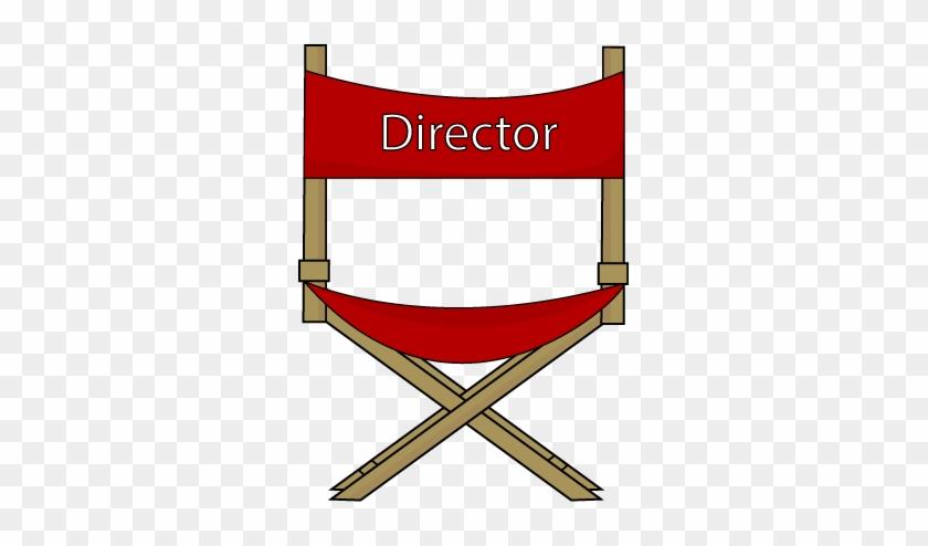 Directors Chair Clip Art - Directors Chair Clip Art #64506