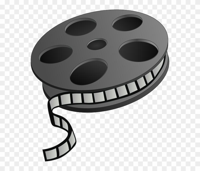 Free Film Reel Clip Art - Godzina Wychowawcza Film #64520