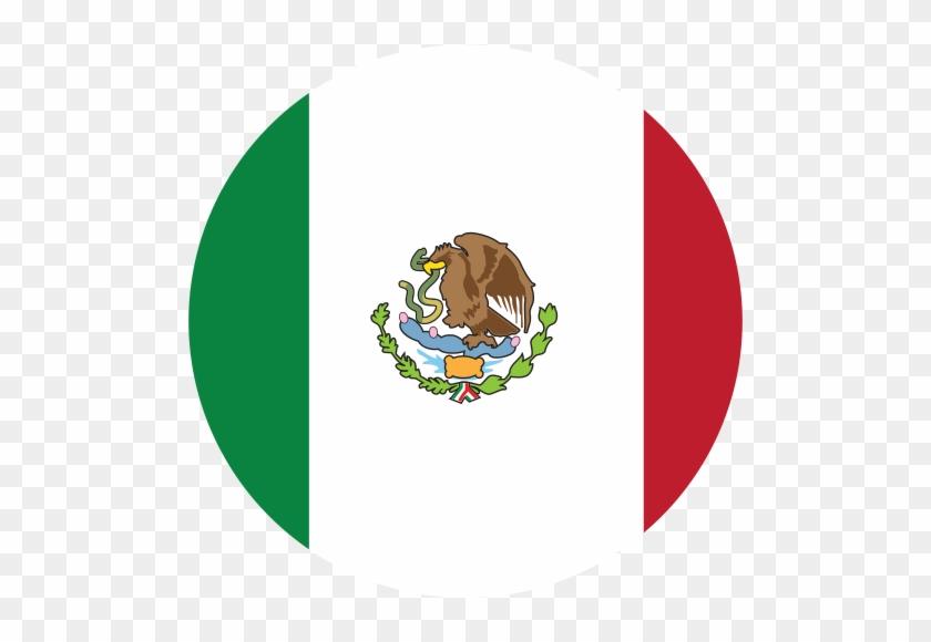 Mexico - Mexico Flag Button Icon #64525