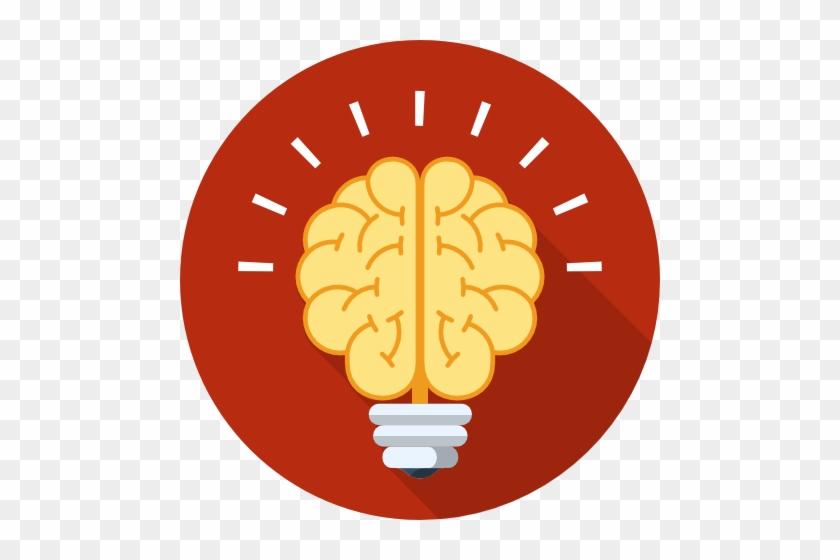 Brain Flat Design Png #64532
