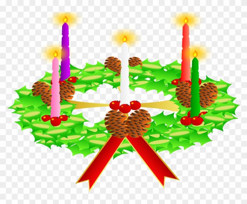 Free Christian Clipart Advent Wreath - Advent #64557
