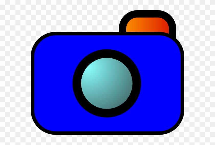 Photographic Film Camera Cartoon Photography Clip Art - Cartoon Camera #64608