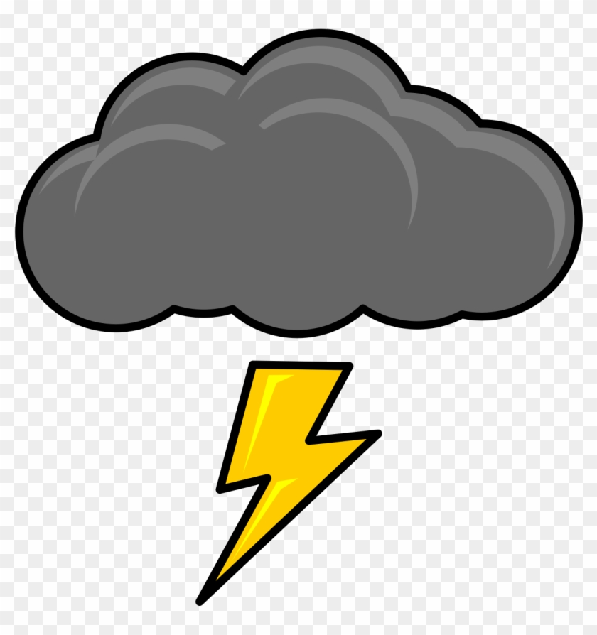 Big Image - Thunder Clipart #64611
