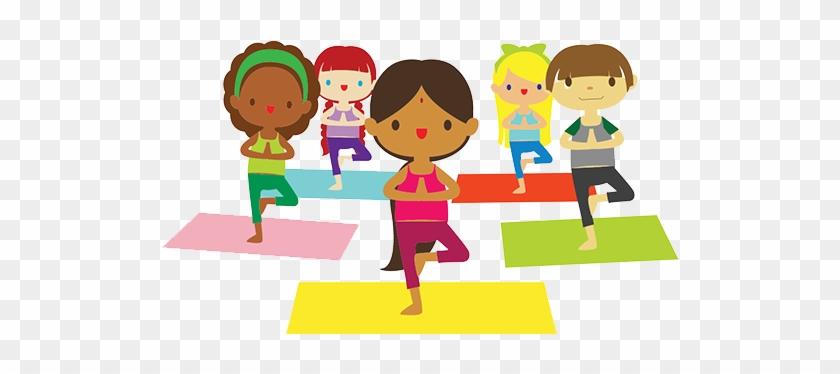 Welcome To Yoga & Mindfulness With Randi Jo - Yoga Kids Clipart #64664