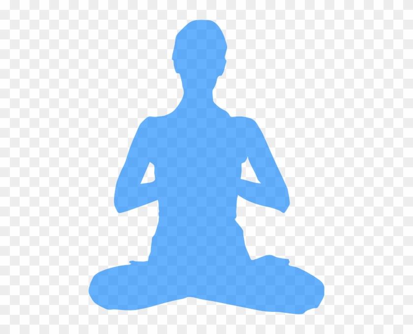 Clipart Info - Meditation Transparent Background #64707
