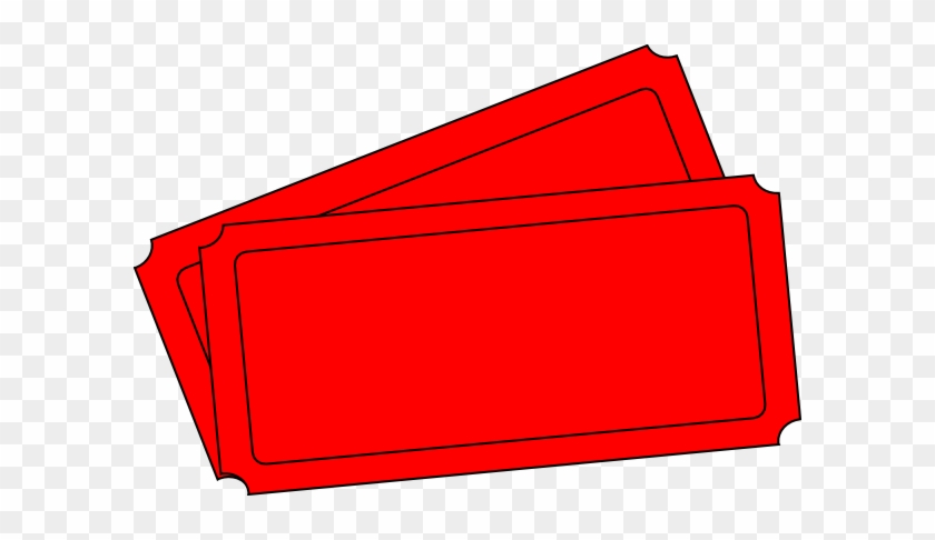 red tickets clipart red blank raffle tickets free transparent