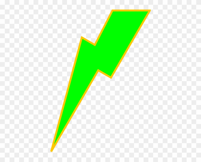 Lightning Bolt Purple Lighting Bolt Free Clipart Images - Lime Green Lightning Bolt #64788