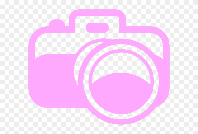 Pink Camera For Photography Logo Clip Art At Clker - Logo Clip Art Photography #64827