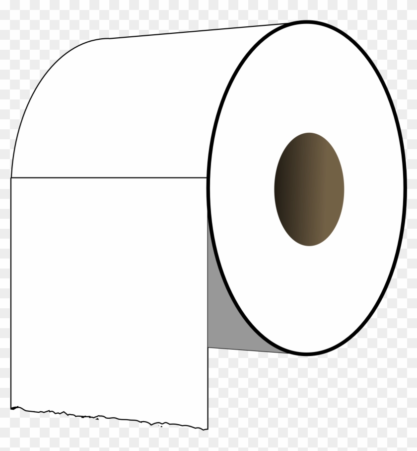 Paper Roll Clipart On Transparent Background - Clip Art Toilet Paper Roll #64837