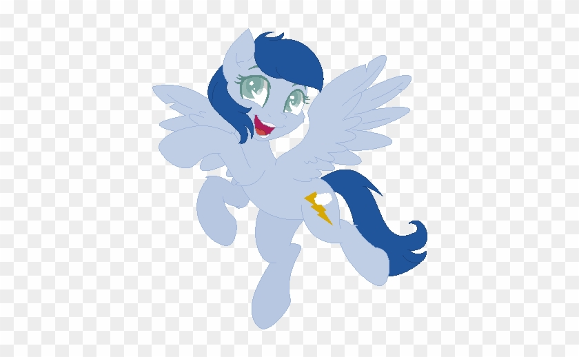 Mlp Starry Lighting Bolt By Xxbrowniepawxx - My Little Pony: Friendship Is Magic #64875