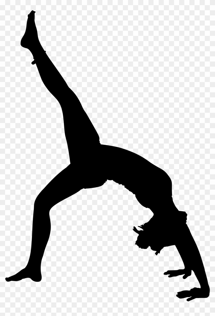 Yoga Pose Silhouette 8 - Yoga Poses Silhouette #64883