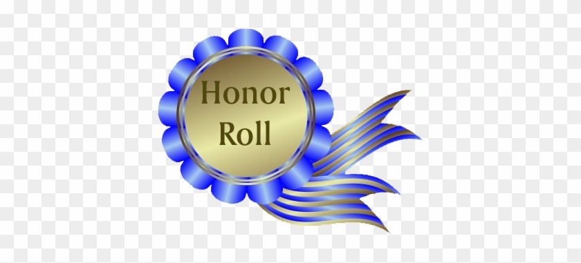 Ribbon Roll Cliparts - Honor Roll #64930