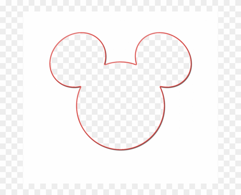 Pictures Of Mickey Mouse Head Mickey Mouse Ears Clip - Mickey Mouse Silhouette Head #64992
