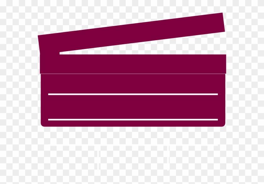 Pink Clapboard Clipart - Clip Art #65004