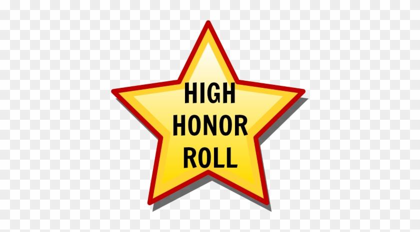 High Honor Roll - High Honor Roll Clipart #65074