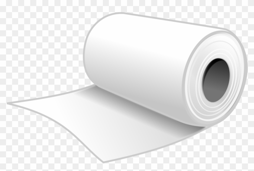 Film Roll Clipart, Vector Clip Art Online, Royalty - Paper Towel Clip Art #65109