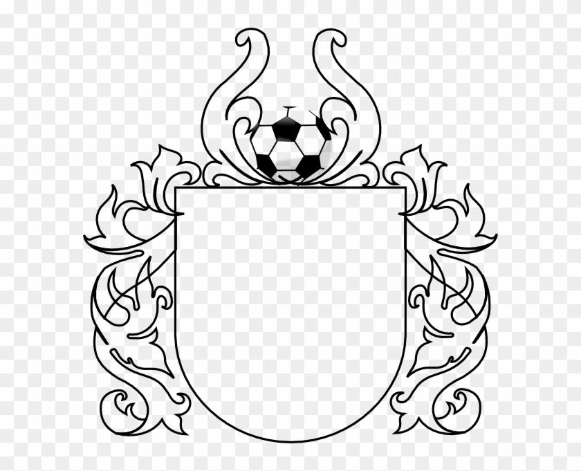 Drawn Ball Soccer Cleat - Clip Art Soccer Logo #65138