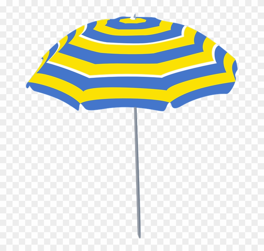 Beach Umbrella Cartoon #65140