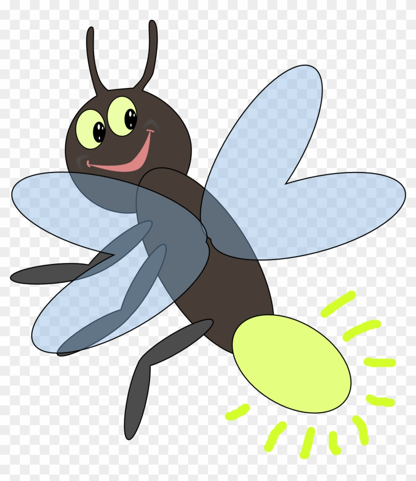 Lightning Bug Clipart - Insect Activities For Preschoolers #65152