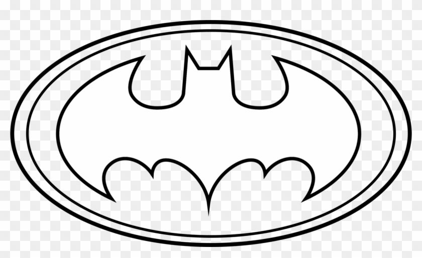 Batman Logo Clip Art Clipart Collection - Batman Pictures To Color #65175