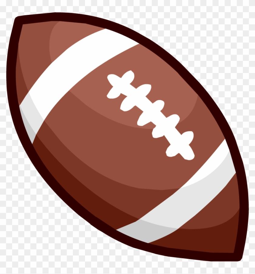 American Football Ball Clipart Png Image - Balon De Futbol Americano Png #65178