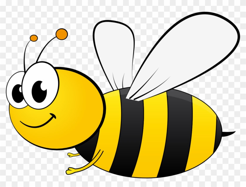 Cartoon Bees Clipart - Cartoon Picture Of Bee #65239