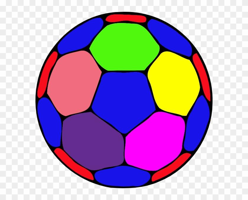Big - Color Soccer Ball Clipart #65245