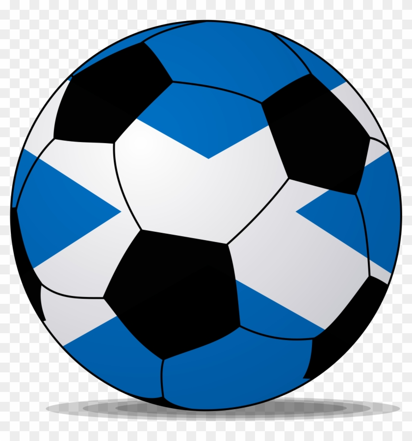 Soccerball Pictures - Blue Soccer Ball Png #65257