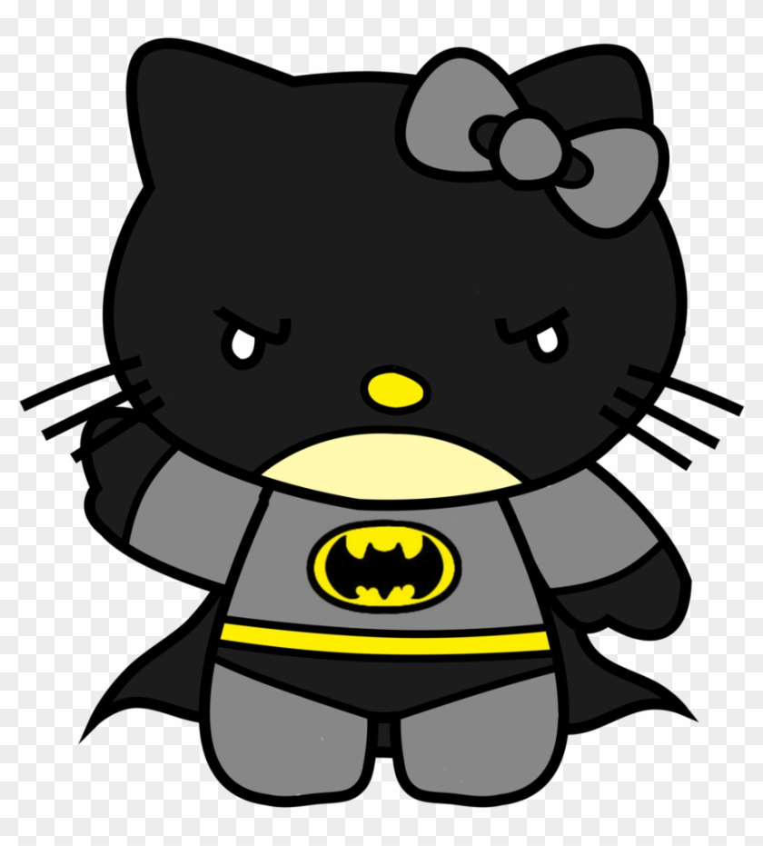 Clip Arts Related To - Hello Kitty And Batman #65270